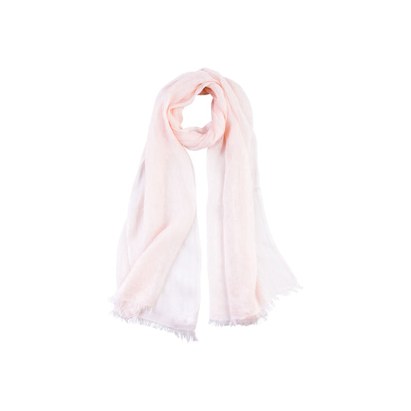 Cloud Linen Scarf - Pink