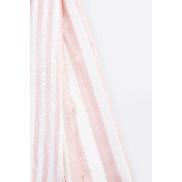 Mandalay Silk Thick and Thin Stripe Wrap