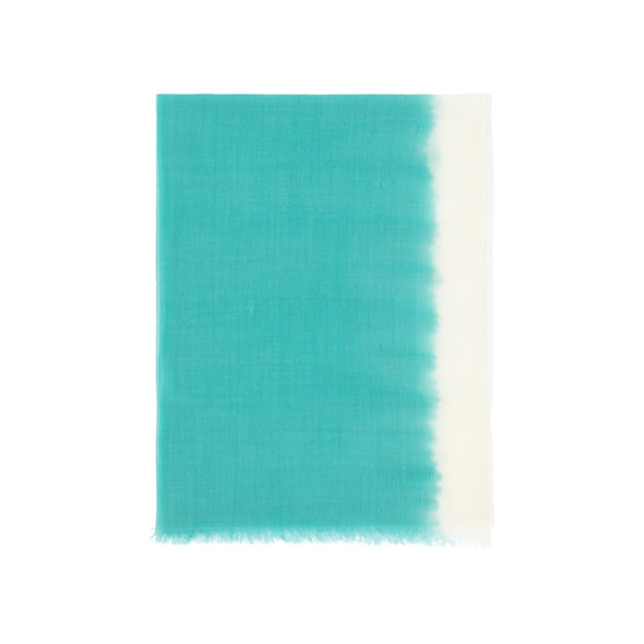 Dip Dyed Flash Stripe Scarf - Spearmint - 50% off
