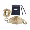 Covered Strap Face Mask and Scrunchie Set -Blush -PRE ORDER