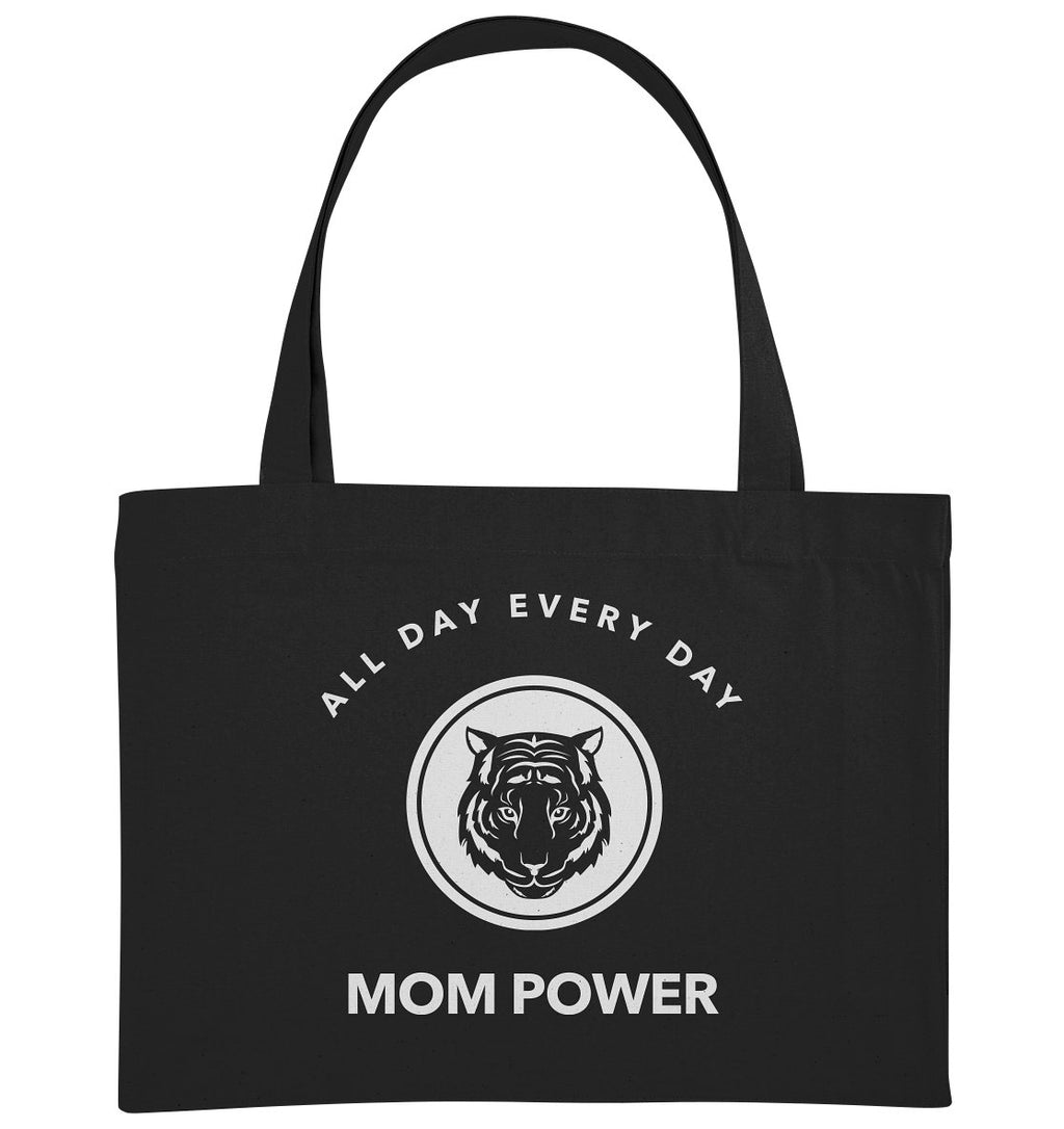 ALL DAY EVERY DAY MOM POWER - Organic Shopping-Bag - FAMILY BY HEART