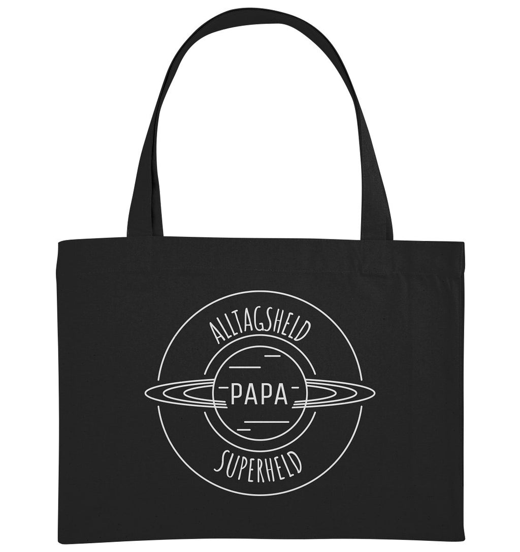 ALLTAGSHELD SUPERHELD PAPA - Organic Shopping-Bag - FAMILY BY HEART
