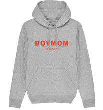 Load image into Gallery viewer, BOYMOM BY HEART HOODIE