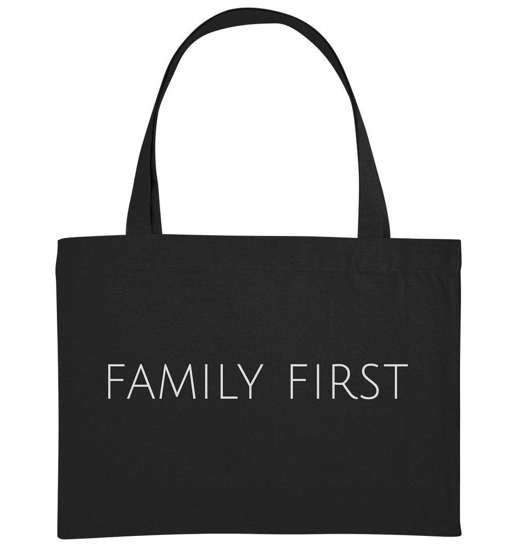 FAMILY FIRST - Organic Shopping-Bag - FAMILY BY HEART