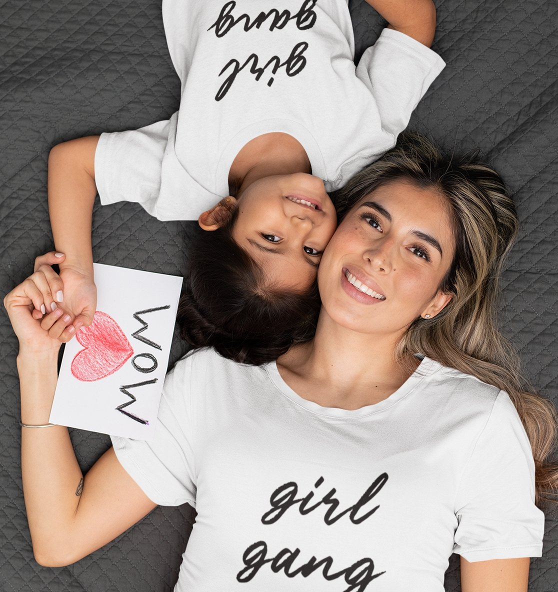 GIRL GANG - Organic Shirt-Damen T-Shirts-FAMILY BY HEART