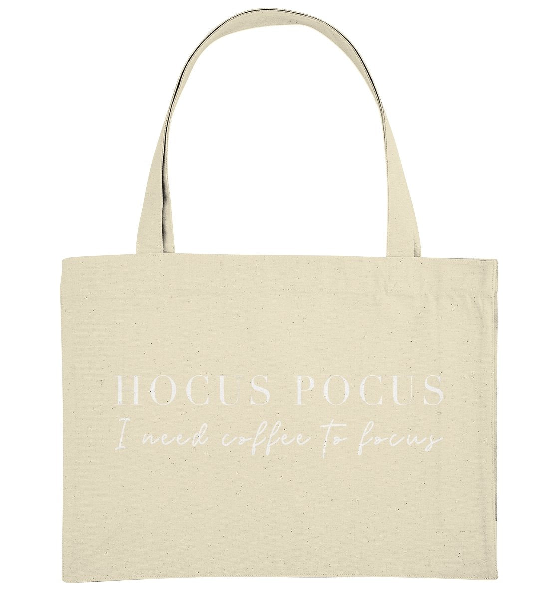 HOCUS POCUS I NEED COFFEE TO FOCUS - Organic Shopping-Bag - FAMILY BY HEART