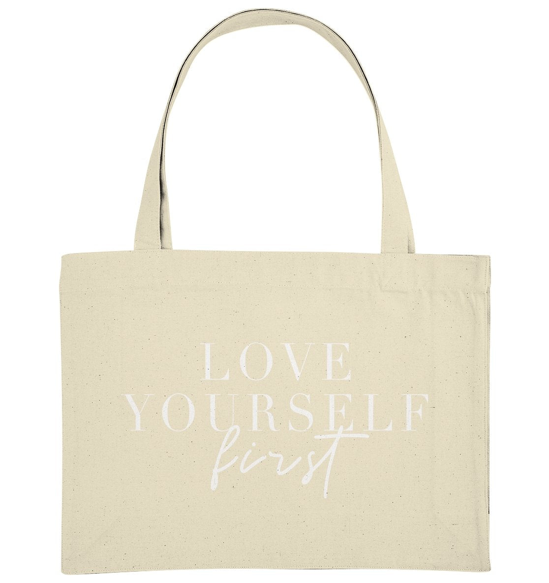 LOVE YOURSELF FIRST - Organic Shopping-Bag - FAMILY BY HEART
