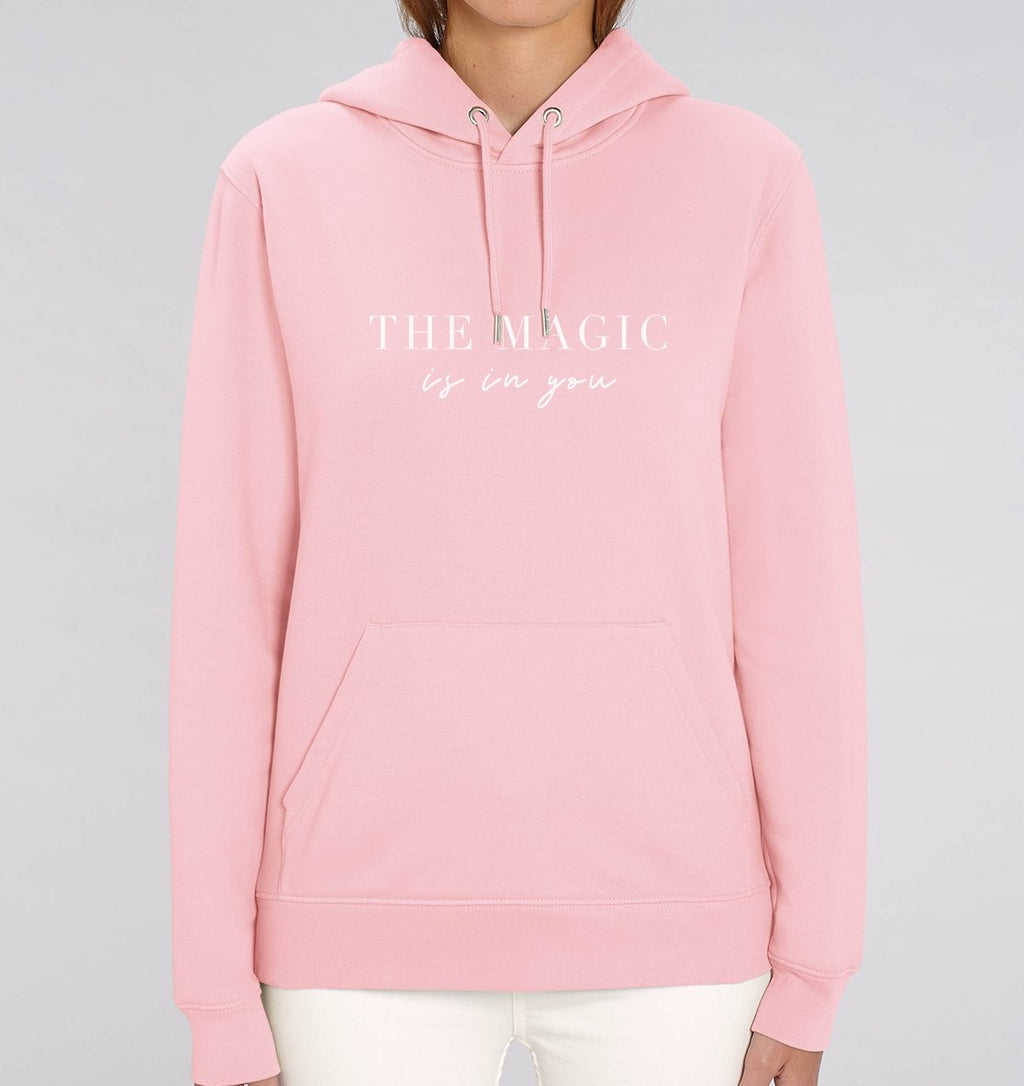THE MAGIC IS IN YOU - Hoodie aus Bio-Baumwolle-Damen Hoodies-FAMILY BY HEART