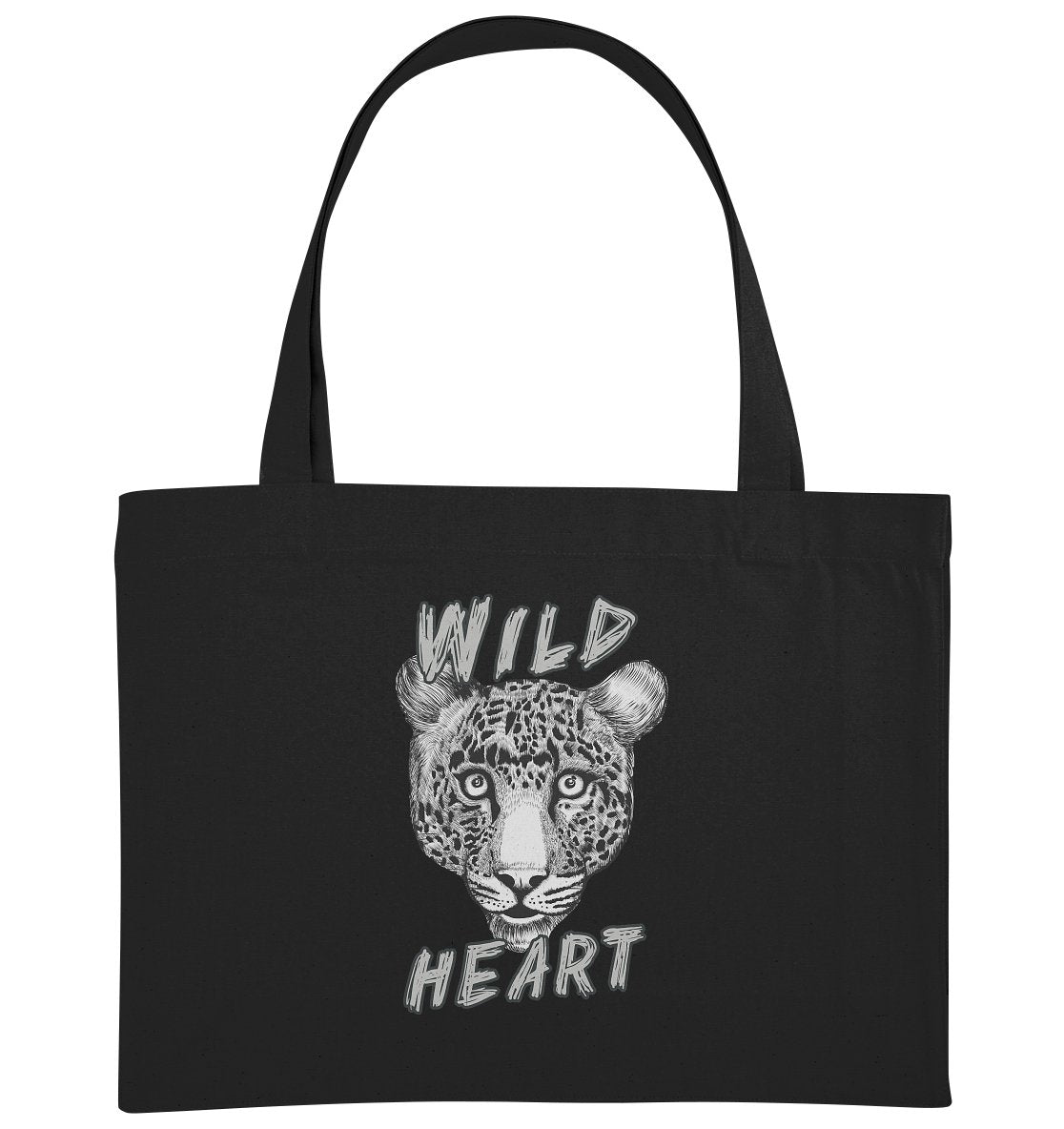 WILD HEART - Organic Shopping-Bag - FAMILY BY HEART
