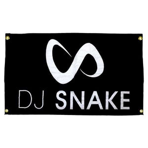 DJ SNAKE OFFICIAL FLAG (BLACK)