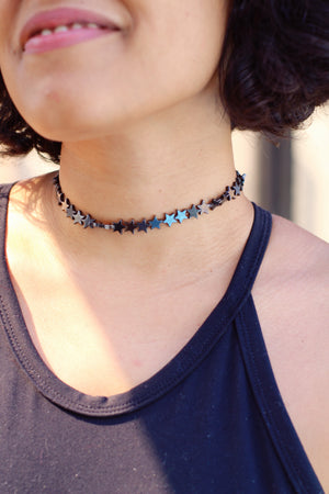 stars are blinding | choker de pedra furta cor