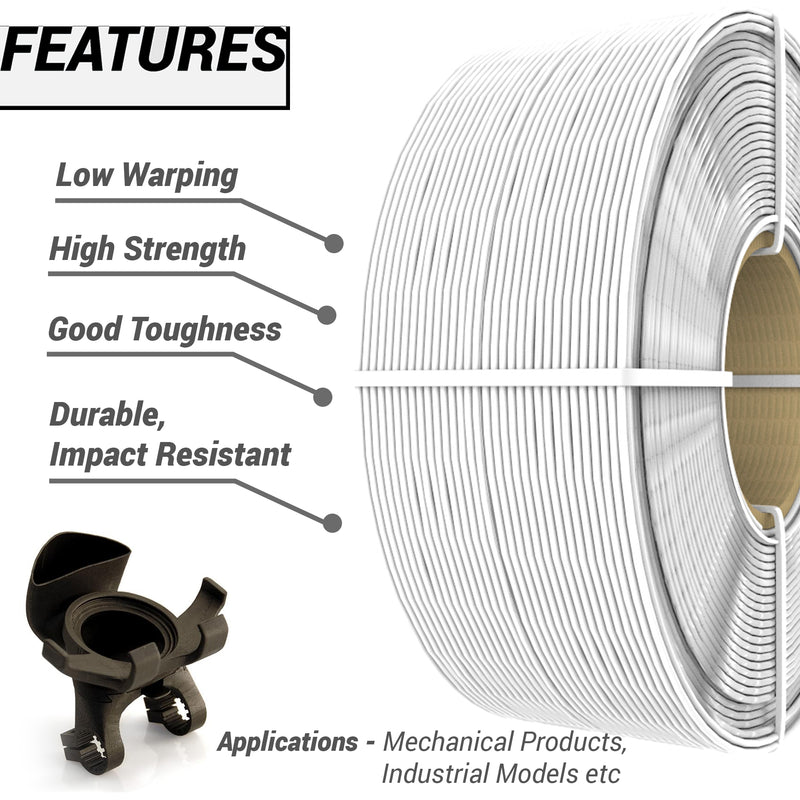 ABS 3D Printing Filament – Spoolless