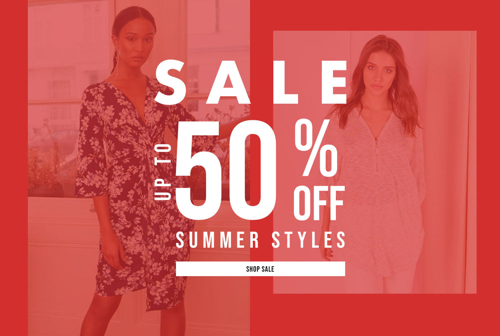 Sale - Up to 50% Off Summer Styles