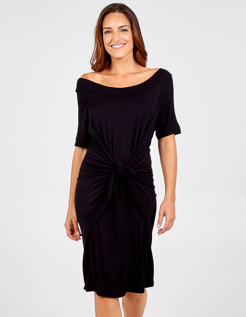 SHAYLA - Off the Shoulder Maxi Dress