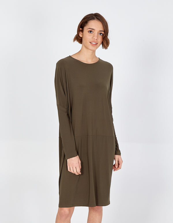 ALISSIA - Batwing Oversized Dress