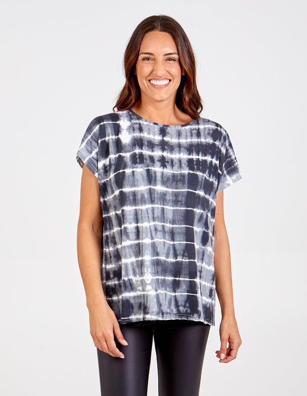 GEMMA - Tie Dye Oversized Top