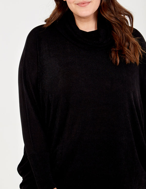 MATILDA - Curve High Neck Jumper