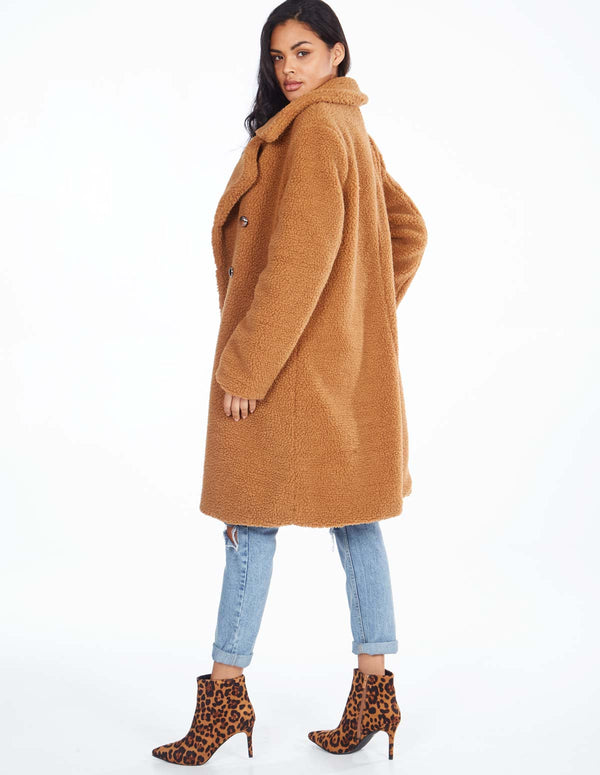 MERIDEL - Sahara Double Breasted Maxi Coat