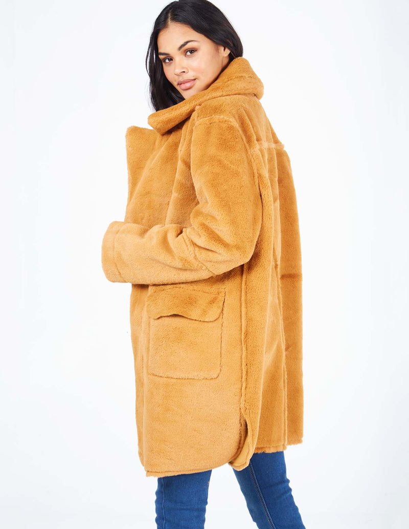 MERCER - Sandgolden Reversable Shearling Coat