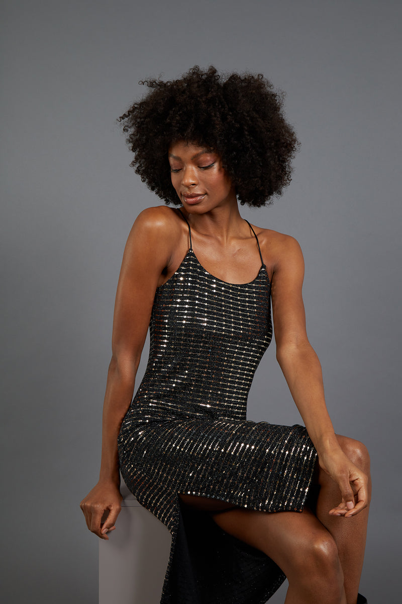 KELLY - Mirror Bling Cami Dress