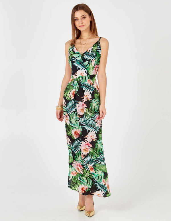 RAV - Wrap Front Maxi Dress