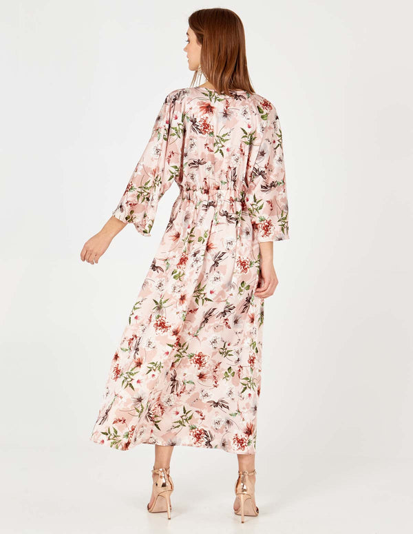 MORGAN - Kimono Sleeve Button Front Dress