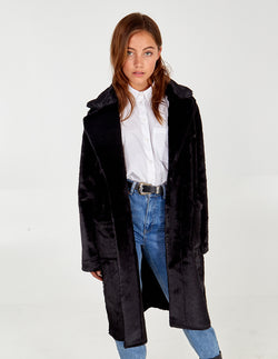 PENNY - Reversible Fur Coat