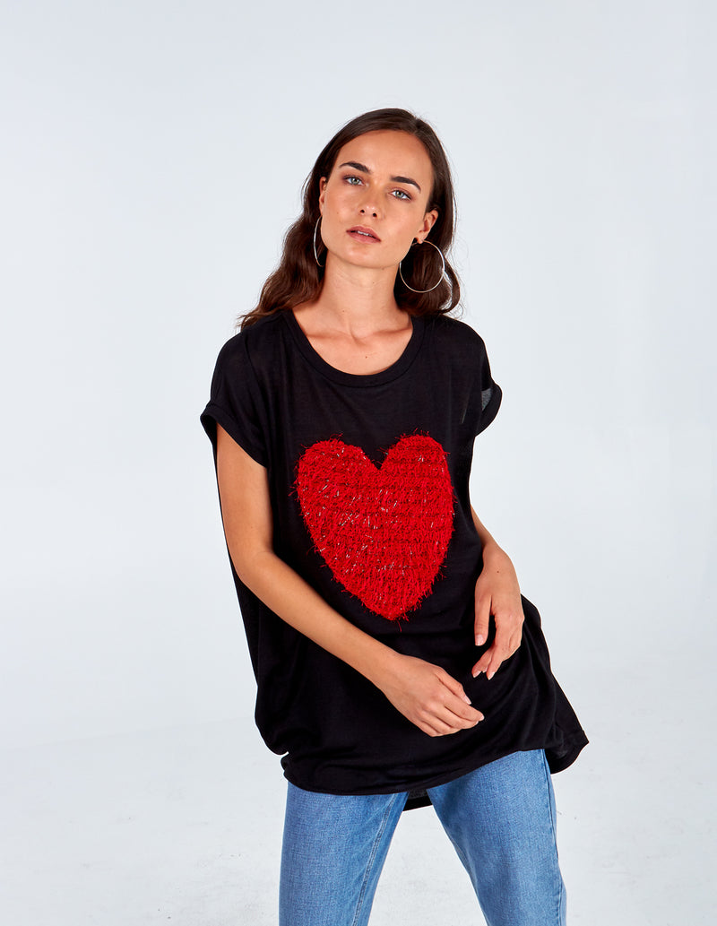 AURELIA - Texture Heart Top