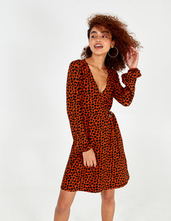 AYA - Buckle Front Wrap Dress