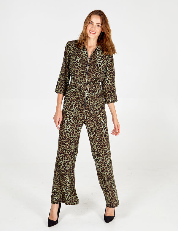 TEGAN - Zip Front Jumpsuit