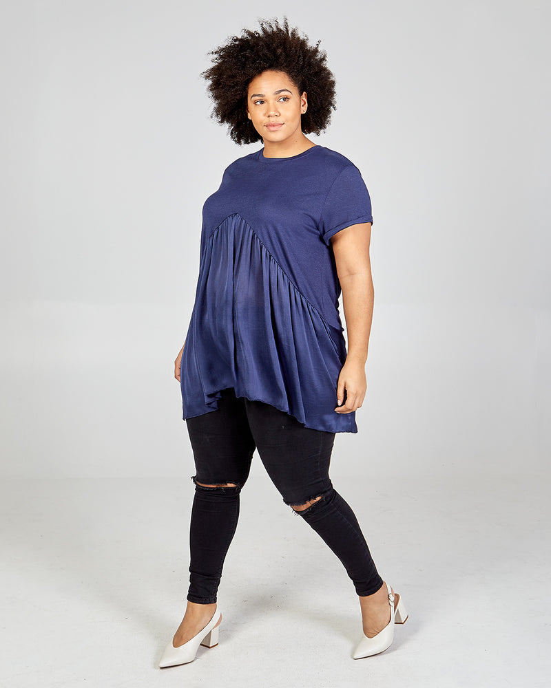 WINIFRED - Curve Frill Point Top