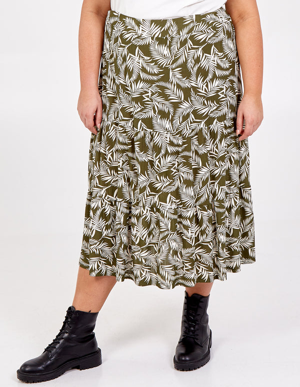 ASIA - Curve Tiered Gypsy Skirt
