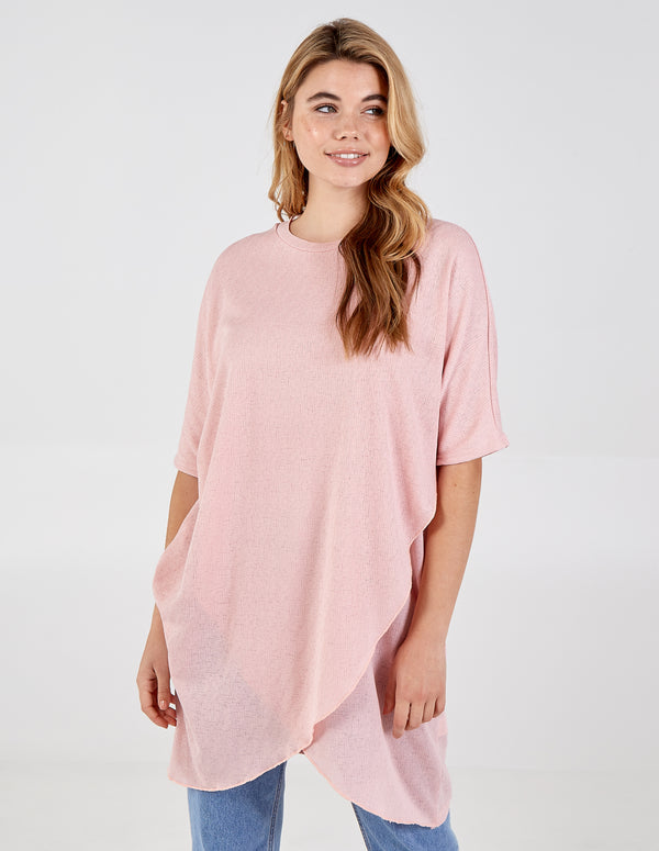 ELIZABETH - Oversized Asymmetric Pocket Tunic