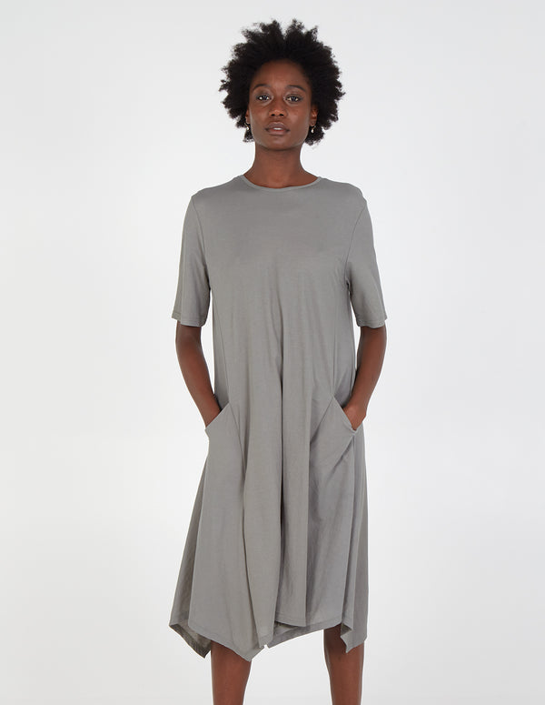 HIBBA - Oversized Pocket Dress