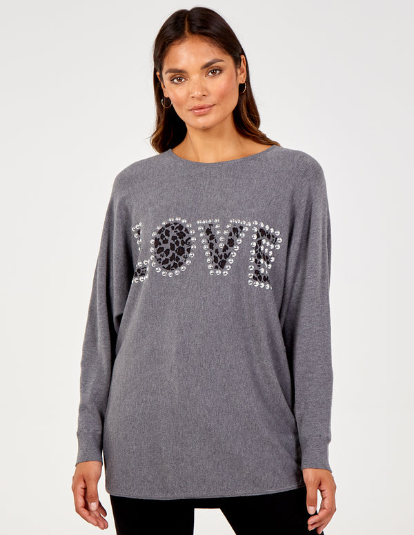 SUSANNA - Love Oversized Top