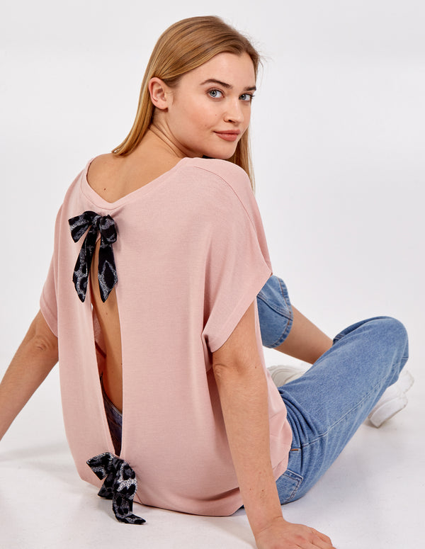 SHANNON - Open Back Oversized Top
