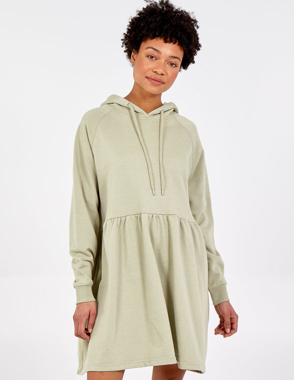 DINA - Hoody Oversized Tunic Dress