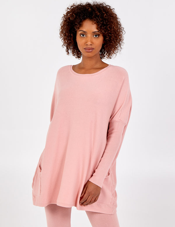 AMIYAH - Crew Neck Lounge Set