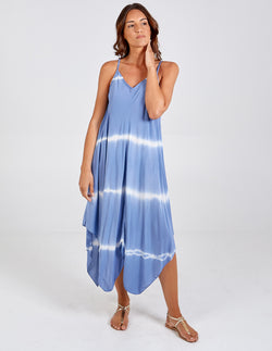 ARIANA - Tie Dye Asymmetric Dress