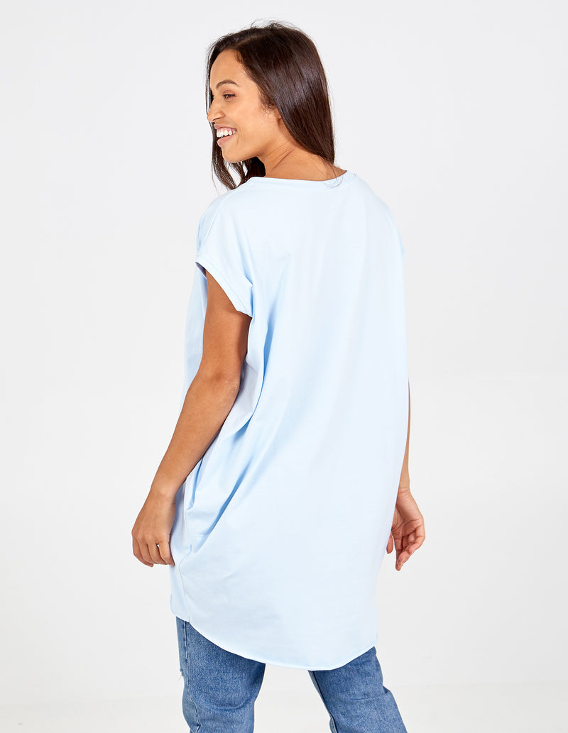 MARIANA - Rainbow Pocket Oversize Top