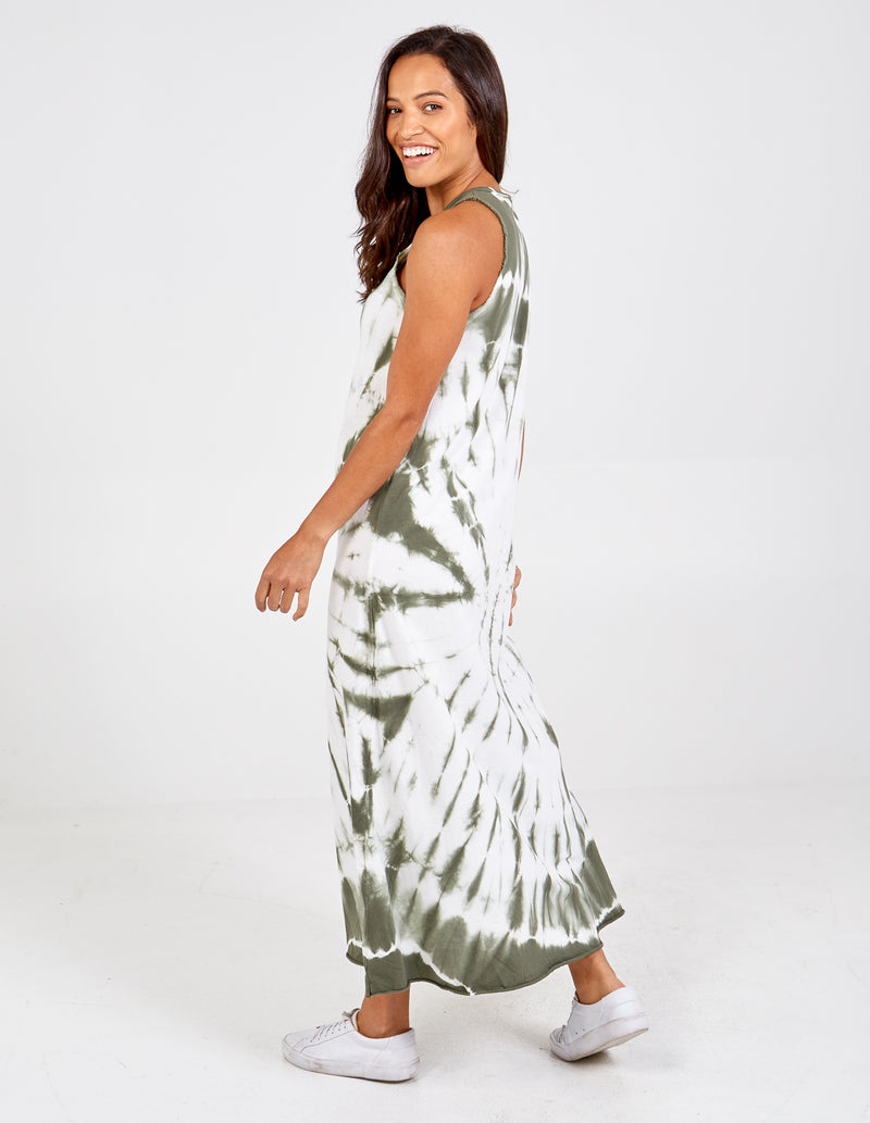 ETTA - Tie Dye Maxi Dress