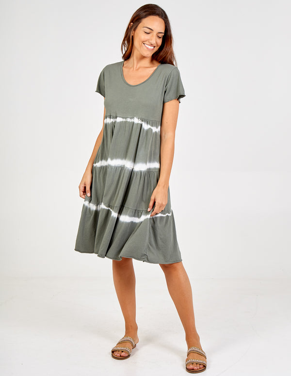 MARISA - Tie Dye Tiered Dress