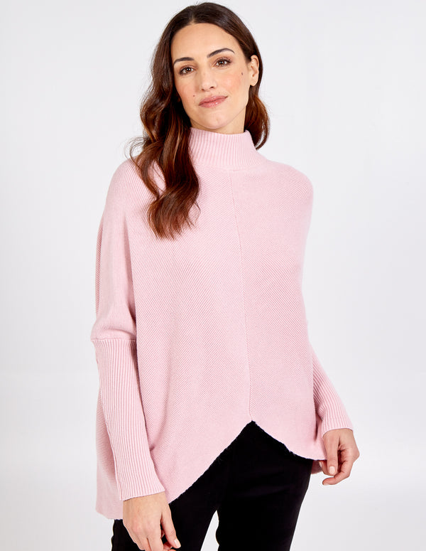 MELODY - Turtle Neck Long Sleeve Jumper