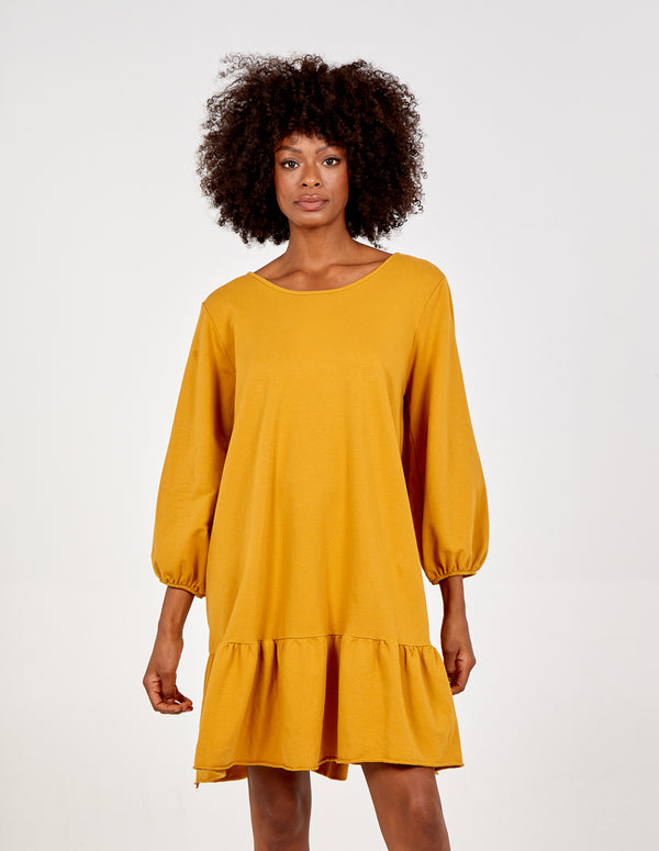 INAAYA - Back V Neck Oversized Dress