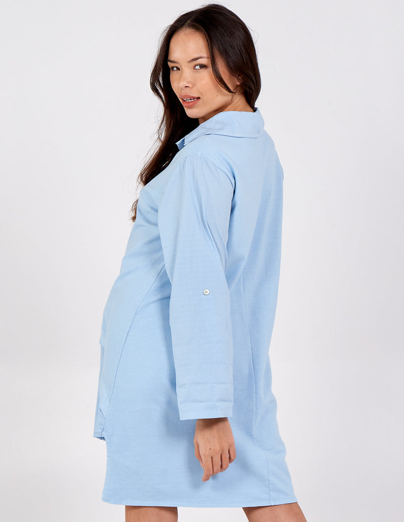 SAFIYA - 2in1 Oversized Vest and Shirt Tunic