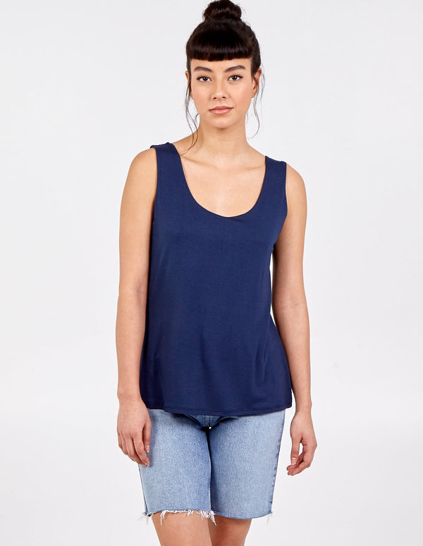 ZAIRA - Scoop Neck Vest