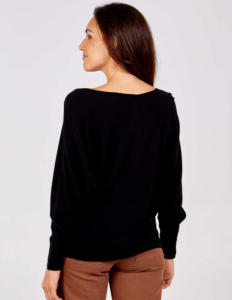 CONCETTA - Oversized Batwing Top