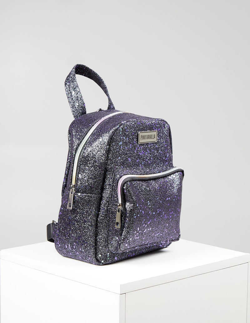 STAR - Iridescent Glitter Back Pack