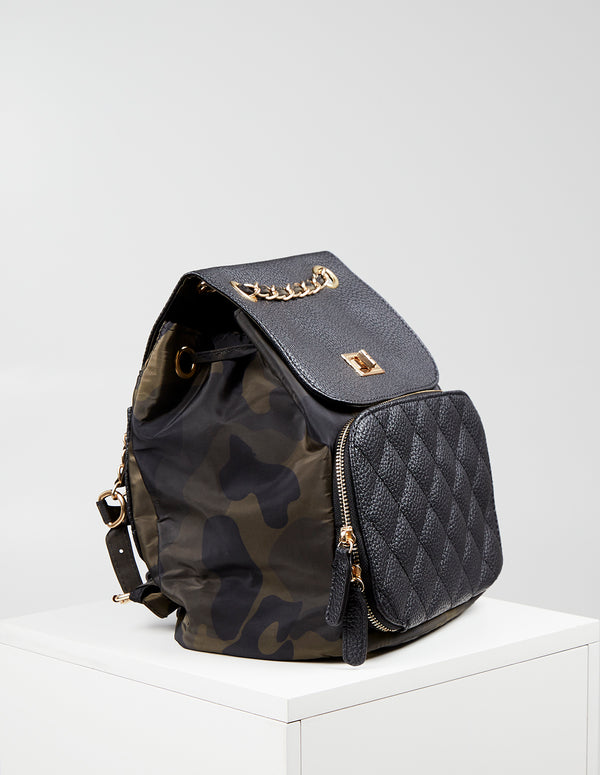 TALIA - Camo Hybrid Back Pack Bag