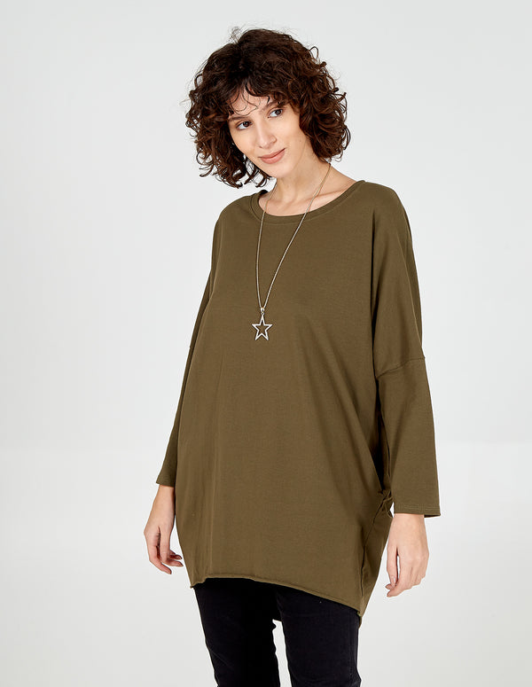 MELISA - Oversized Star Necklace Top
